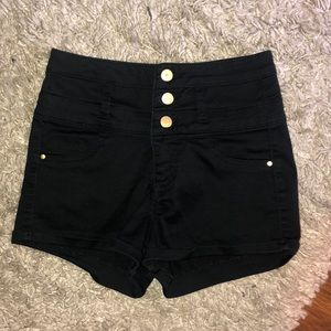 Charlotte Russe Refugee high waisted shorts